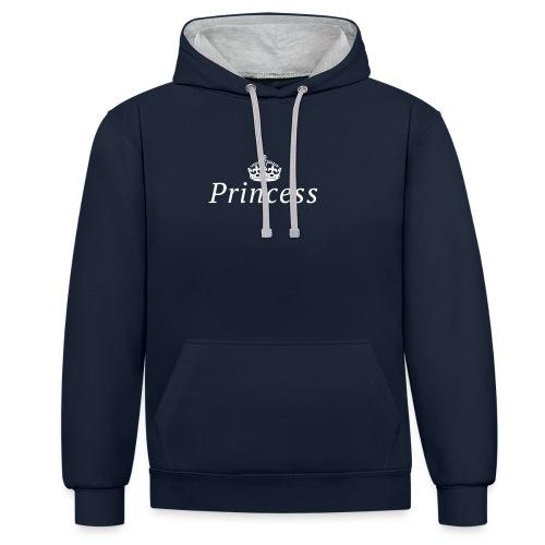 Princess - Contrast hoodie