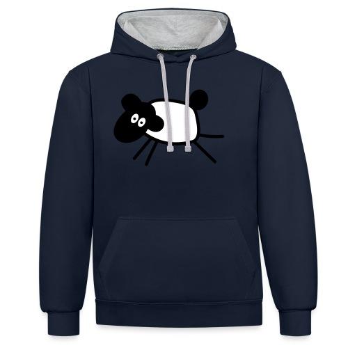 SHEEP - Sweat-shirt contraste