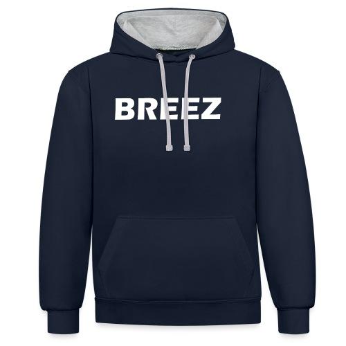 Breez Identity I - Kontrast-hættetrøje