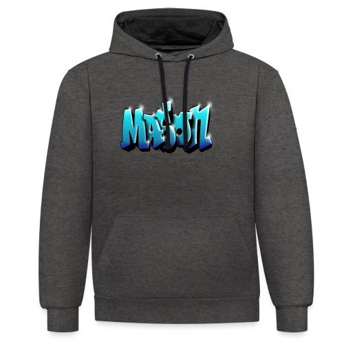 Graffit Mason - Sweat-shirt contraste
