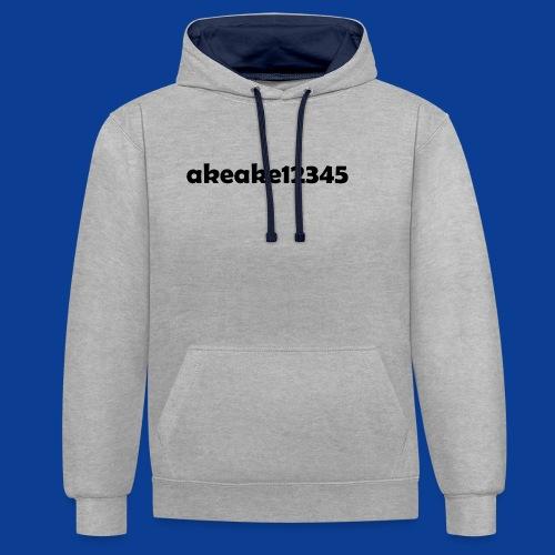 Shirts and stuff - Contrast Colour Hoodie