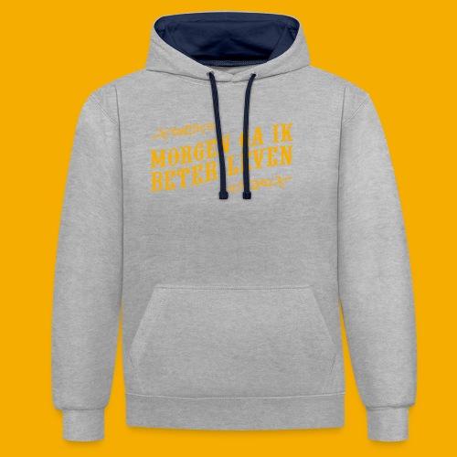 tshirt yllw 01 - Contrast hoodie