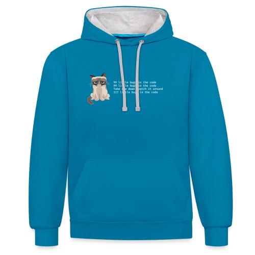 99bugs - white - Contrast hoodie