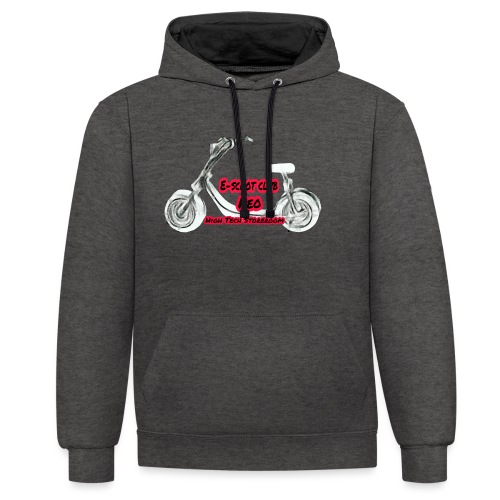 Neorider Scooter Club - Sweat-shirt contraste
