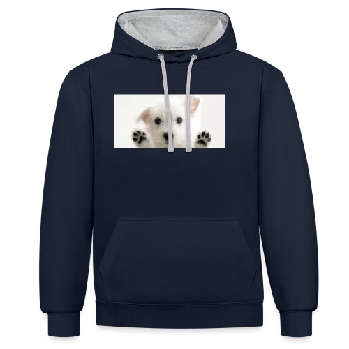 puppy - Sweat-shirt contraste