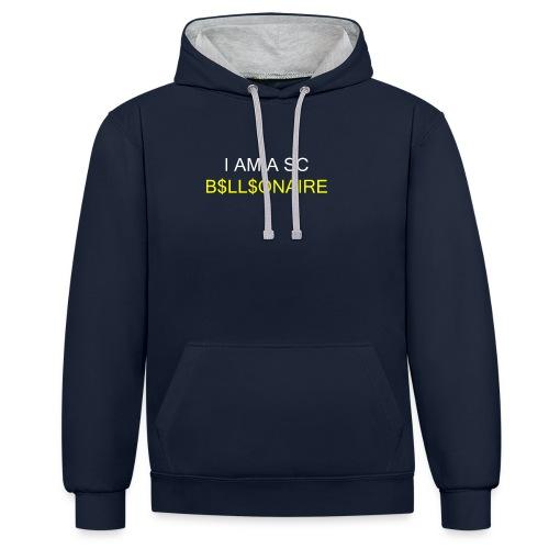 SC Billionaire - Contrast Colour Hoodie