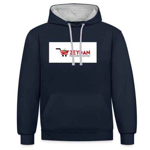 Zeydan - Contrast hoodie
