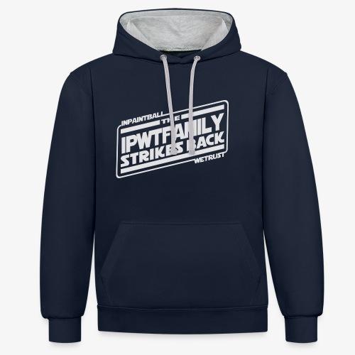 IPWTfamily StrikesBack - Sweat-shirt contraste