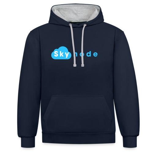 Skynode! - Contrast Colour Hoodie
