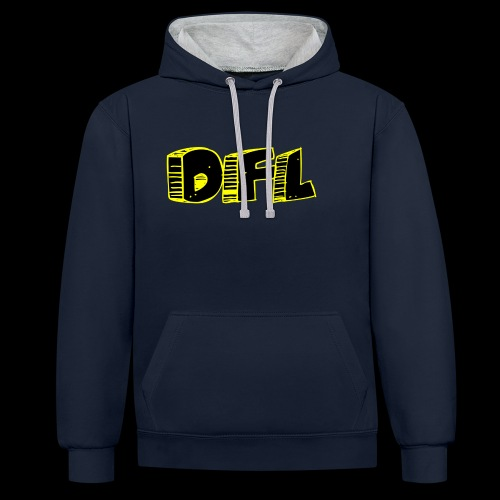 DFunctionaL Logo - Contrast Colour Hoodie