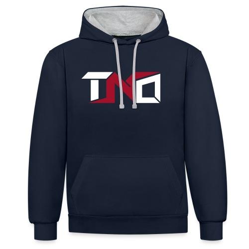 TNO LOGO 2 - Sudadera con capucha en contraste