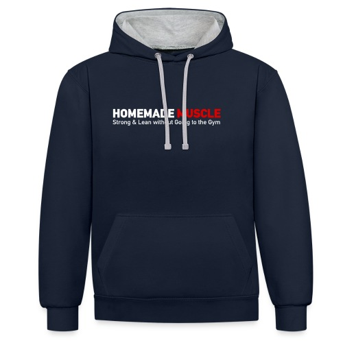 HOMEMADE MUSCLE Apparel - Contrast Colour Hoodie
