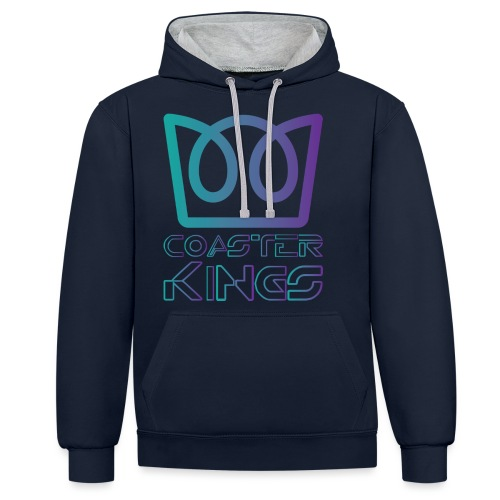 Coaster Kings on the Grid - Contrast Colour Hoodie