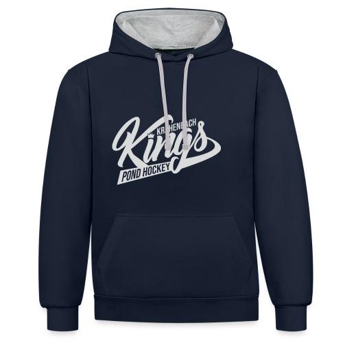 KINGS Logo 2019 - Kontrast-Hoodie
