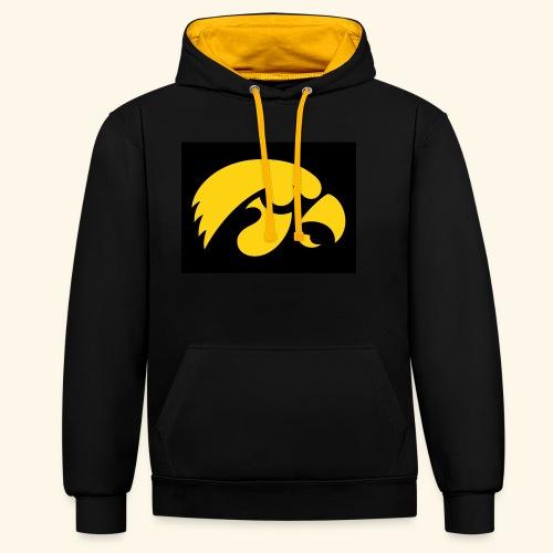 YellowHawk shirt - Contrast hoodie