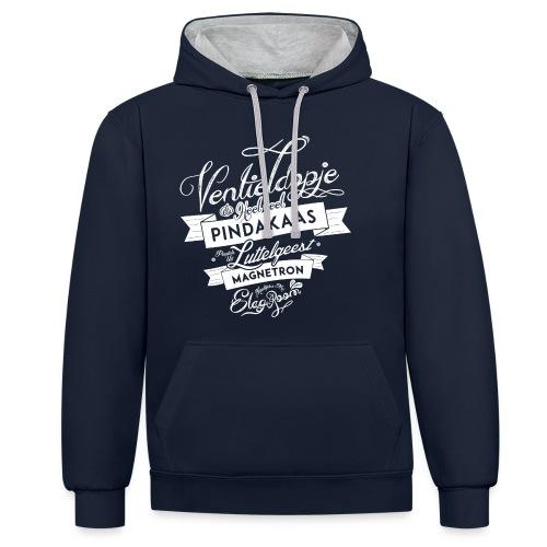 Ventieldopje - Contrast hoodie