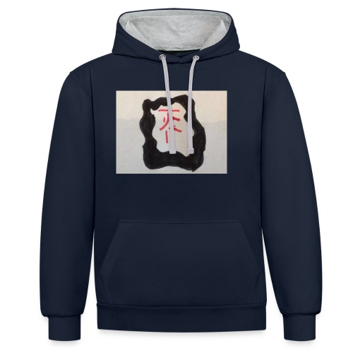 Jackfriday 10%off - Contrast Colour Hoodie