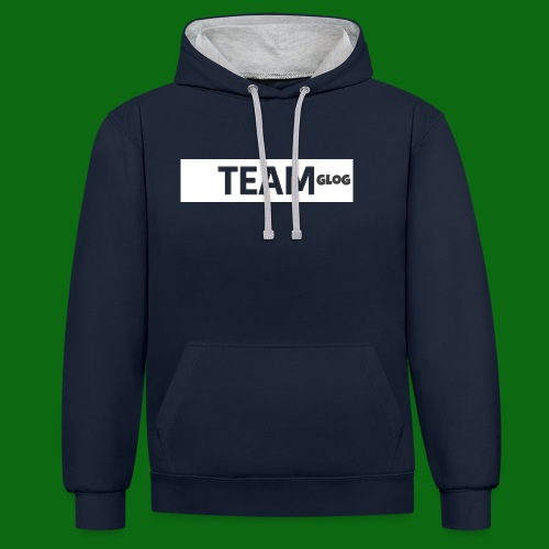 Team Glog - Contrast Colour Hoodie
