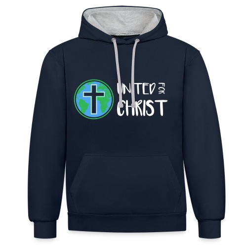 United For Christ - Contrast Colour Hoodie