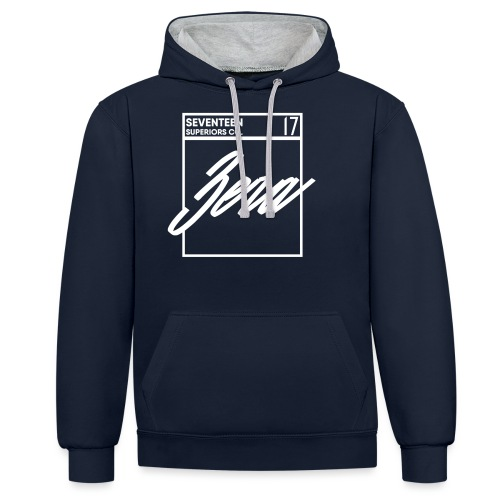 boite png - Contrast Colour Hoodie