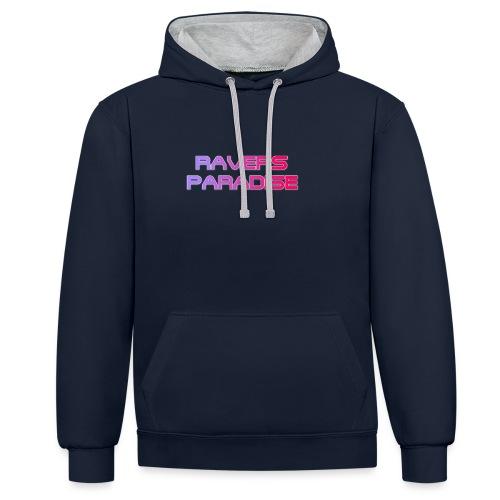Ravers Paradise - Contrast Colour Hoodie