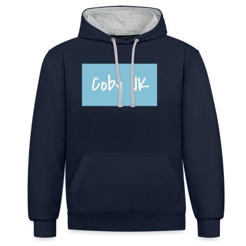 Coby JK - Contrast Colour Hoodie