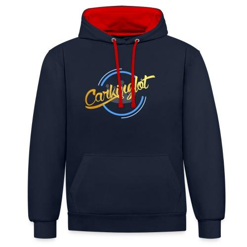 Carkinglot Transparant - Contrast hoodie