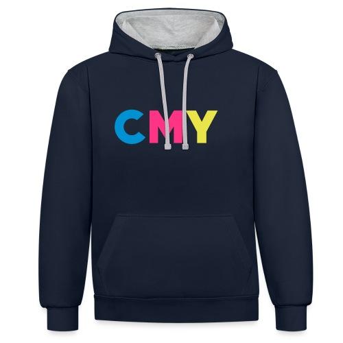 CMYK - Contrast hoodie
