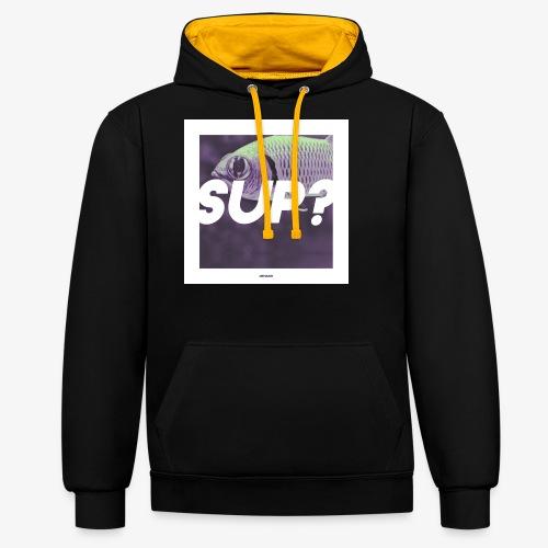 SUP #01 - Kontrast-Hoodie