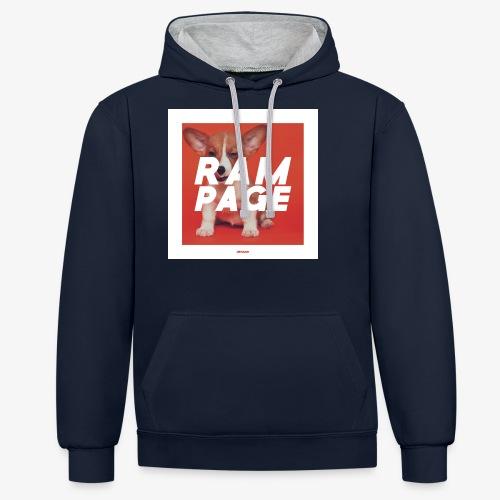 RAMPAGE #01 - Kontrast-Hoodie