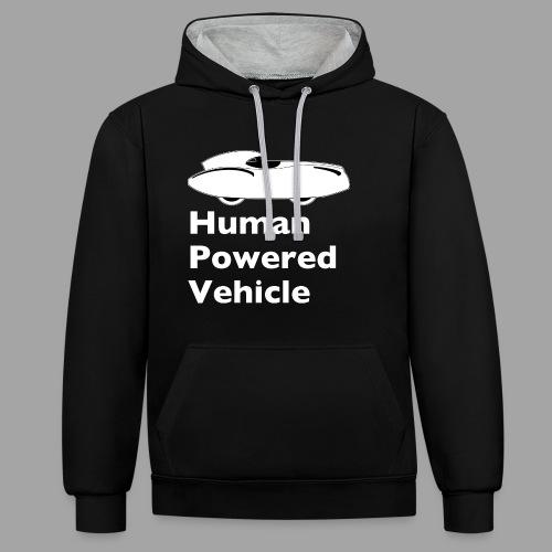 Quattrovelo Human Powered Vehicle white - Kontrastihuppari