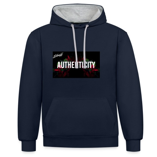 Authenticity - Sweat-shirt contraste