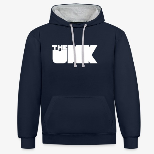 The Unk Wit Zonder Border - Contrast hoodie