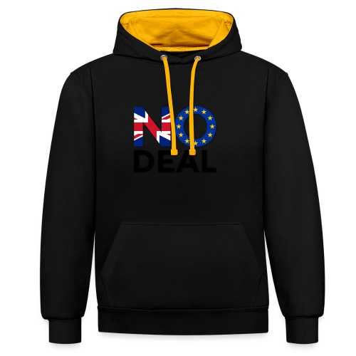No Deal - Contrast Colour Hoodie