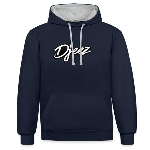 djeez_official_kleding - Contrast hoodie