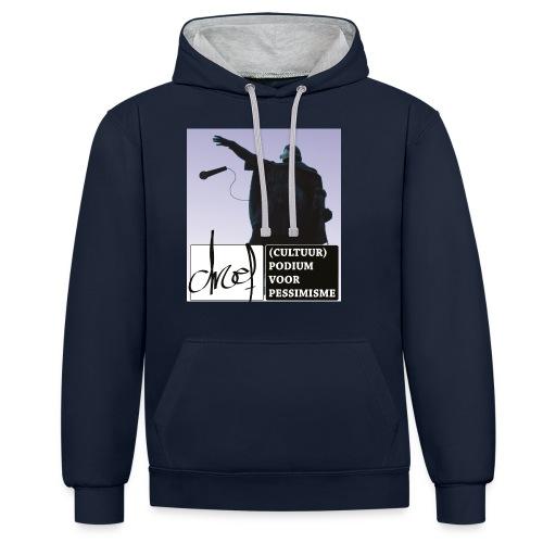 Artevelde drops the mike - Contrast hoodie