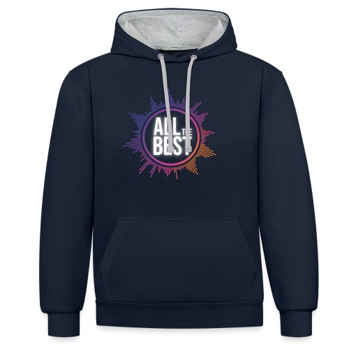 All The Best Logo - Contrast Colour Hoodie