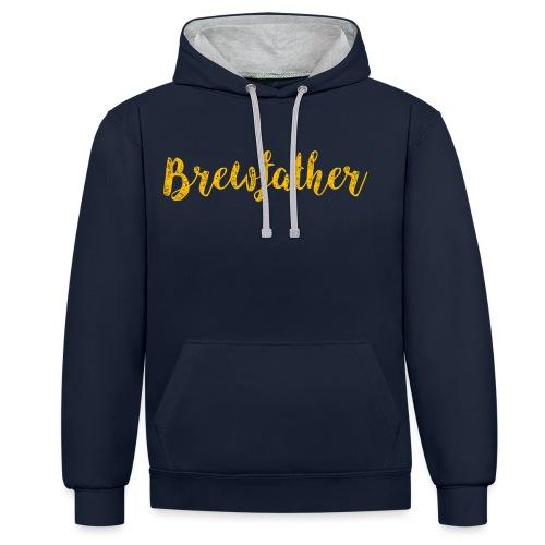 Brewfather - Contrast Colour Hoodie