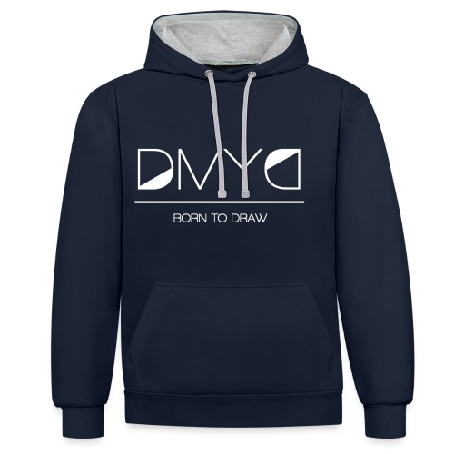 DMYD - LOGO - Sweat-shirt contraste