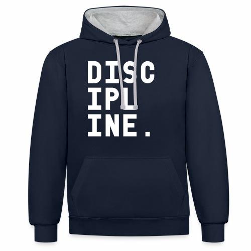Discipline - Contrast hoodie