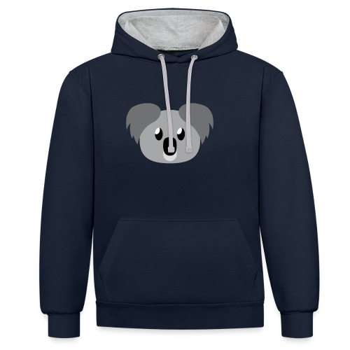Koala »Kim« - Contrast Colour Hoodie
