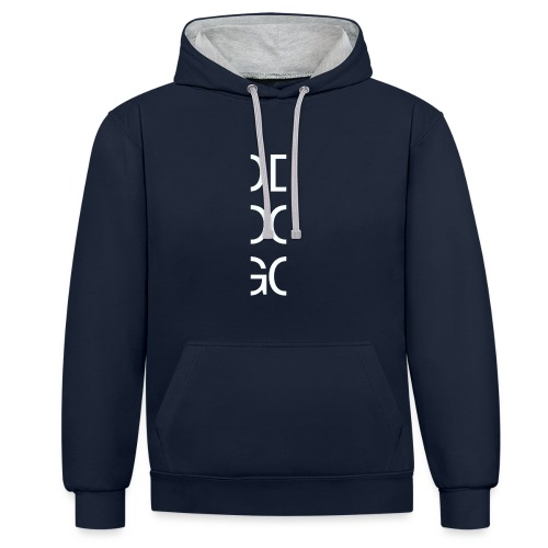 DOG - Contrast Colour Hoodie