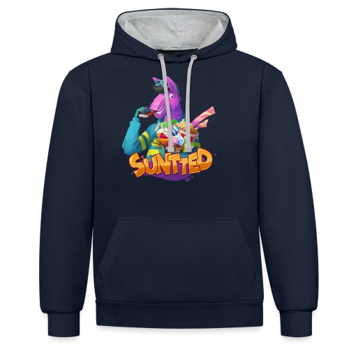 Suntted Confiseries - Sweat-shirt contraste