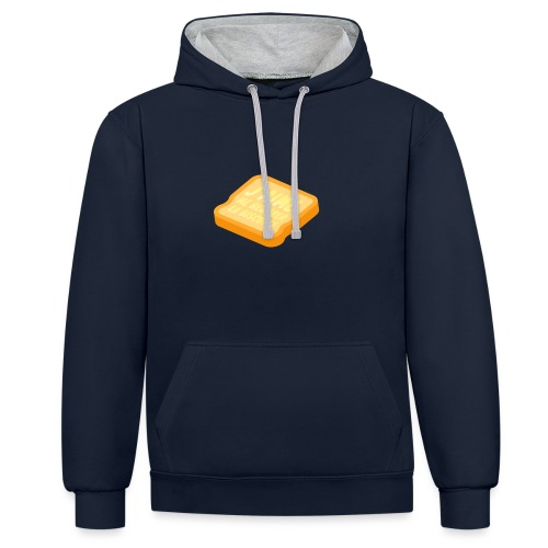 BISCOTTE - Sweat-shirt contraste