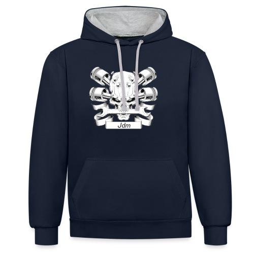 JDM dood - Contrast hoodie