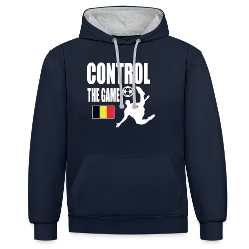 Control The Game Belgium - Contrast hoodie