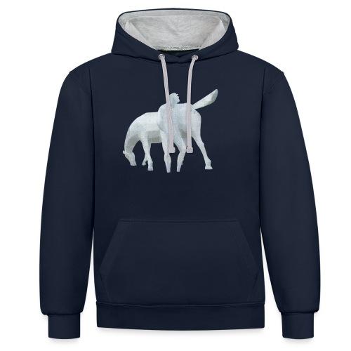 Peerd van Ome Loeks - Contrast hoodie