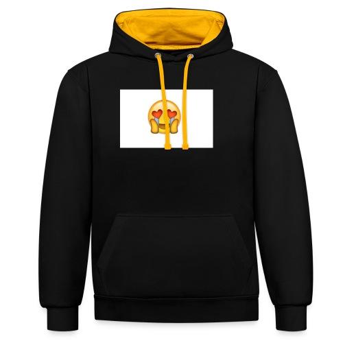 Emoij Hoesje - Contrast hoodie