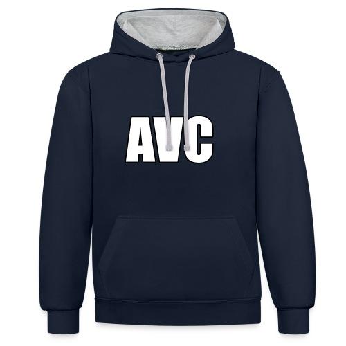 mer png - Contrast hoodie