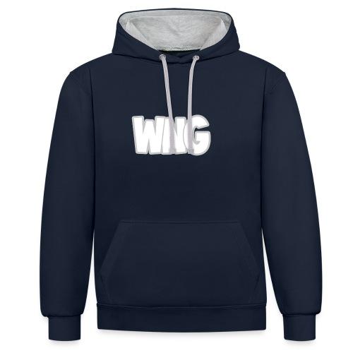 Snapback - Contrast hoodie